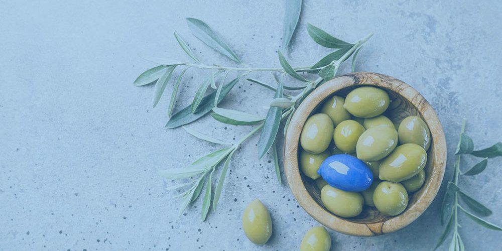 Blue Olive Greek Taverna Landing page